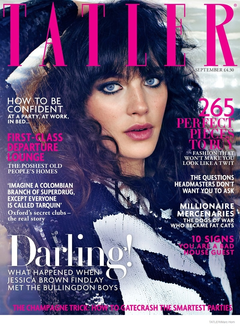 Jessica Brown Findlay Photoshoot05 Downtown Abbey Star Jessica Brown Findlay Poses for Marc Hom in Tatler Shoot