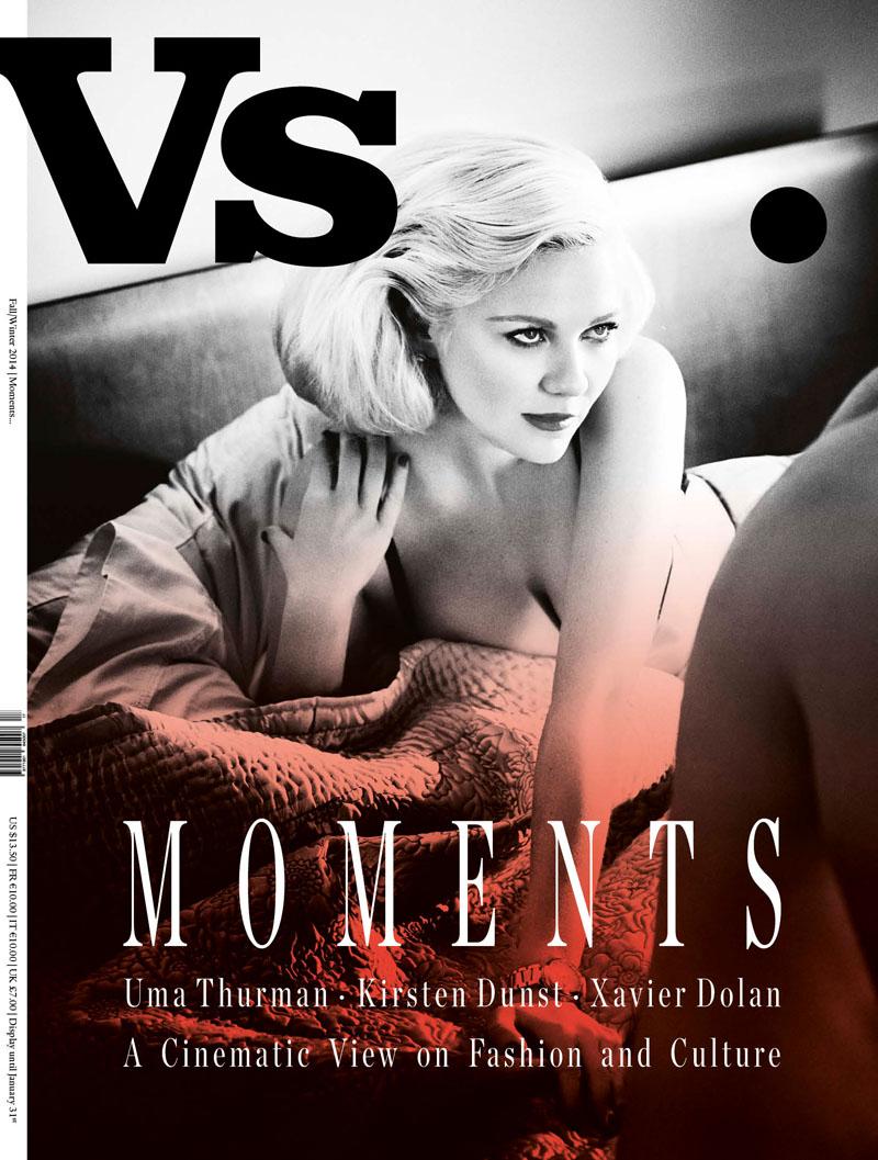 Kirsten Dunst by Kayt Jones for Vs. Magazine F/W 2014 Cover