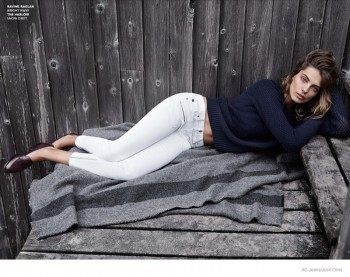 More Photos of Daria Werbowy for AG Jeans Fall 2014 Ads Revealed
