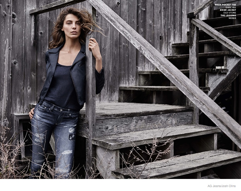 Ag fall jeans winter campaign photos