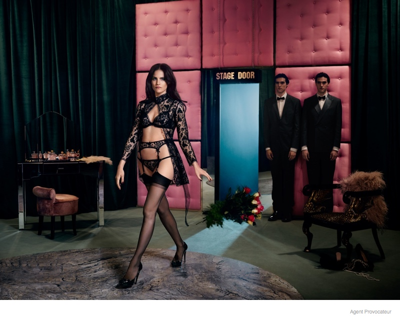 Preview: Missy Rayder is Smokin' Hot in Agent Provocateur's Fall Ads