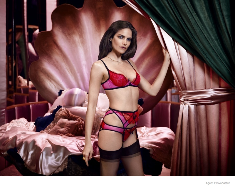 agent provocateur 2014 fall winter ad campaign02 Preview: Missy Rayder is Smokin Hot in Agent Provocateurs Fall Ads