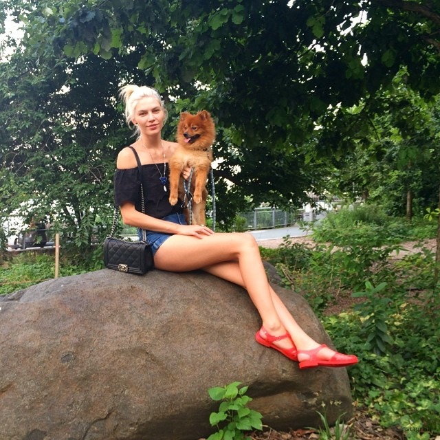 Aline Weber in New York