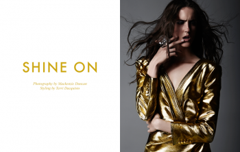 "FGR Exclusive | Amanda Laine by Mackenzie Duncan in ""Shine On"""