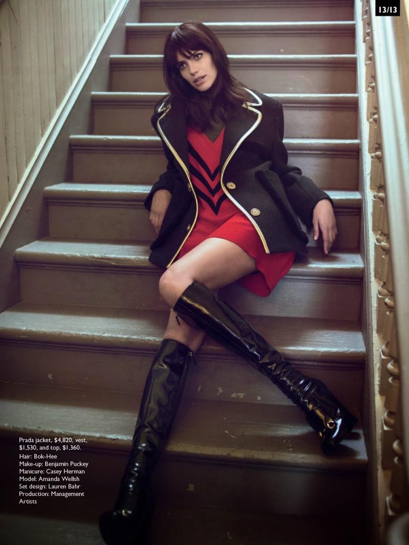 Amanda Wellsh Rocks 60s Inspired Fashions for Vogue Australia by Sebastian Kim