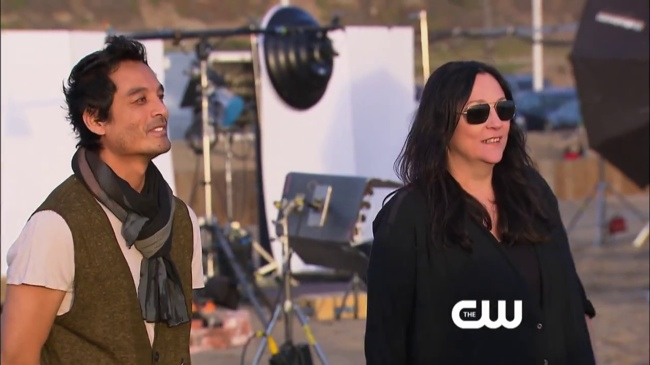 Yu Tsai and Kelly Cutrone