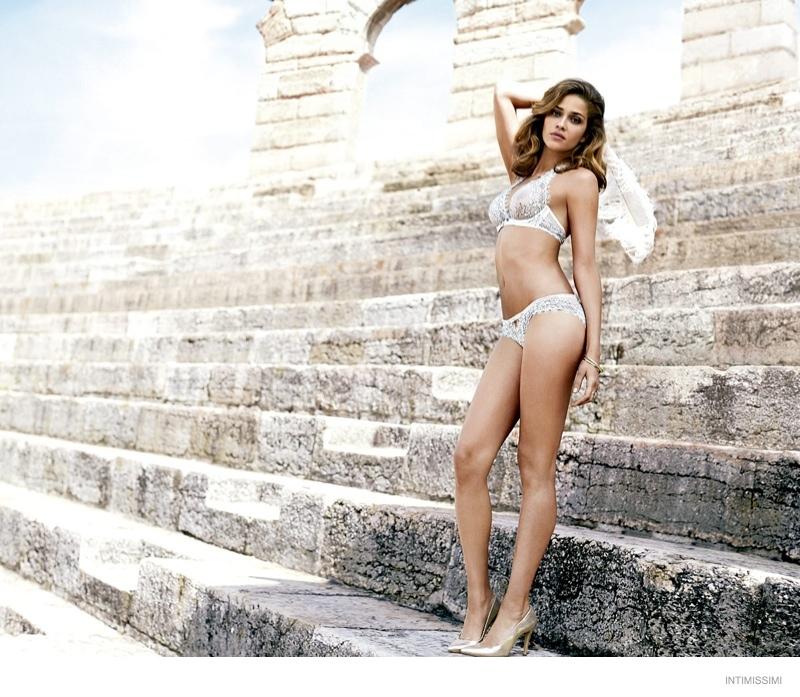 ana beatriz underwear intimissimi 2014 fall campaign07 Ana Beatriz Barros Wears Sexy Lingerie in Intimissimis Fall 2014 Campaign