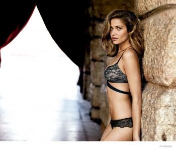Ana Beatriz Barros Wears Sexy Lingerie in Intimissimi's Fall 2014 Campaign