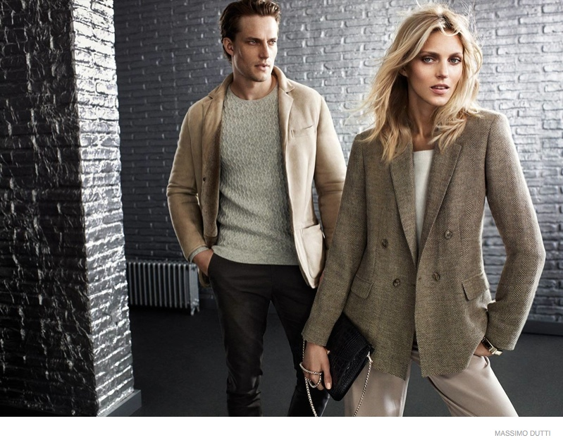 anja rubik massimo dutti fall 5th ave collection 2014 01 Anja Rubik Wears Elegant Outerwear in Massimo Dutti New York City Fall 2014 Ads