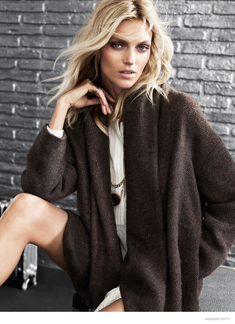 anja rubik massimo dutti fall 5th ave collection 2014 07 Anja Rubik Wears Elegant Outerwear in Massimo Dutti New York City Fall 2014 Ads