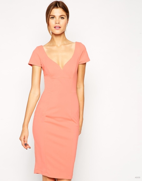 Sexy Pencil Dress in Scuba available at ASOS for $77.39