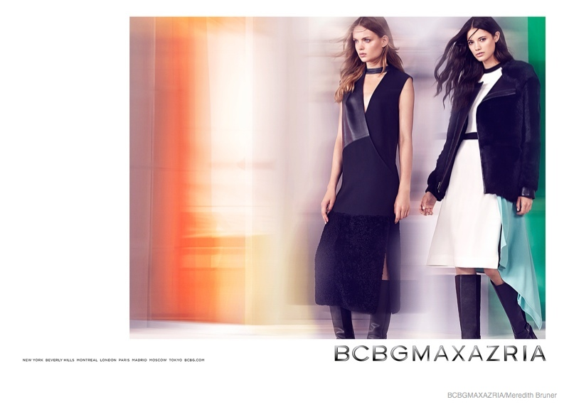 bcbg clothing 2014 fall winter ad campaign01 BCBG Max Azria Launches Fall 2014 Clothing Campaign