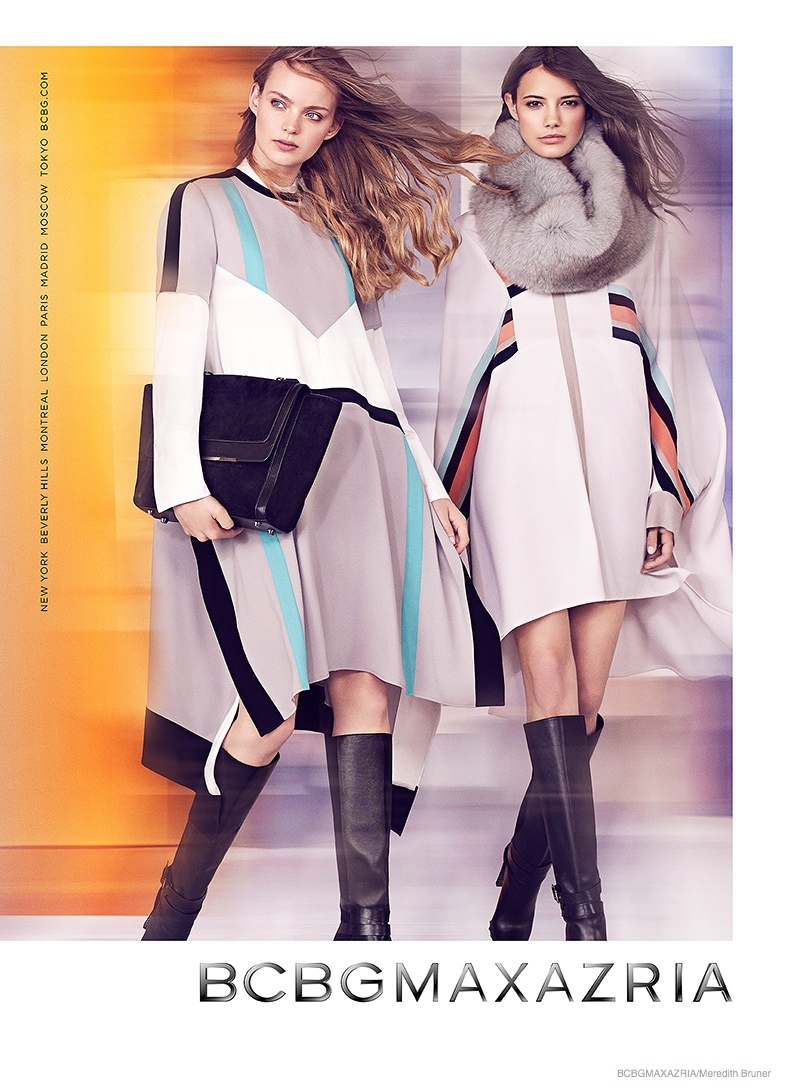 bcbg clothing 2014 fall winter ad campaign02 BCBG Max Azria Launches Fall 2014 Clothing Campaign