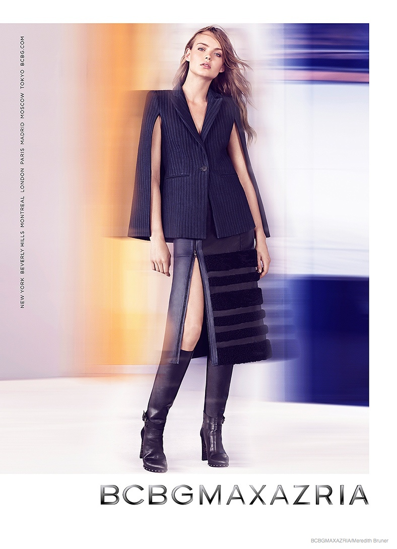bcbg clothing 2014 fall winter ad campaign03 BCBG Max Azria Launches Fall 2014 Clothing Campaign