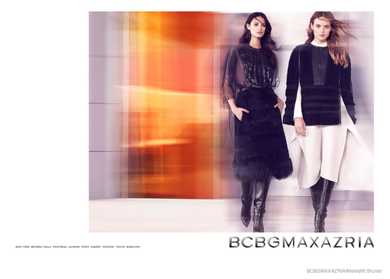 bcbg clothing 2014 fall winter ad campaign04 BCBG Max Azria Launches Fall 2014 Clothing Campaign