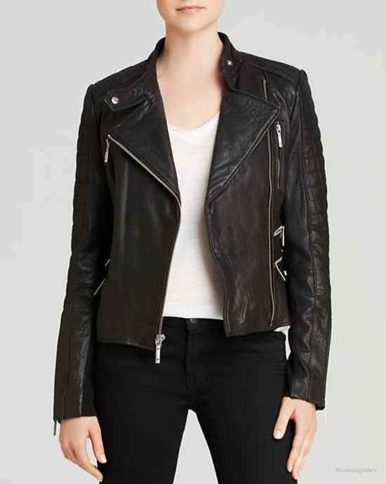 BCBGMAXAZRIA Maddy Moto Jacket available at Bloomingdale's for $598.00