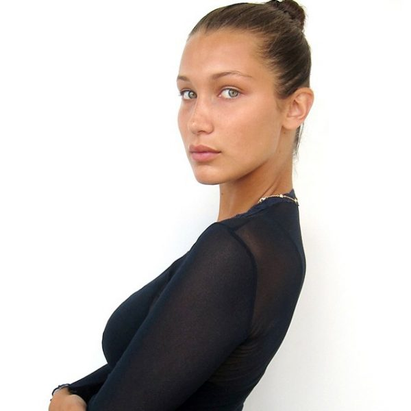 Bella Hadid. Photo: IMG Models' Instagram