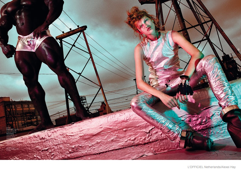 Bette Franke is Sci-Fi Chic in L'Officiel Netherlands September Cover Story