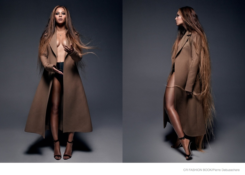 Beyoncé Goes Avant Garde for CR Fashion Book #5 Shoot