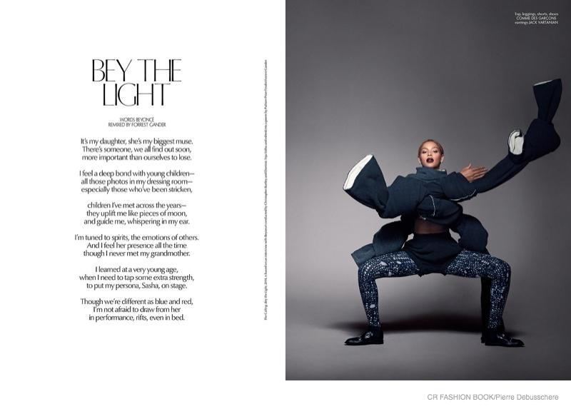 Beyoncé Stars in CR Fashion Book 2014 Shoot   Fashion Gone Rogue