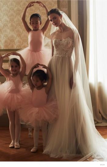 BHLDN Launches Ballet-Inspired Wedding Dresses for Fall