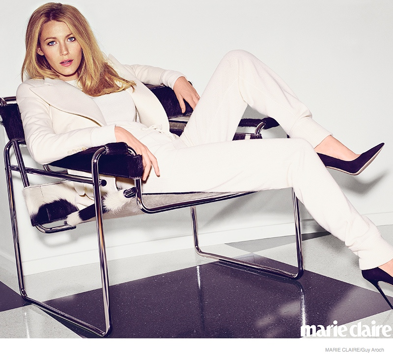 blake lively marie claire 2014 01 Blake Lively Stars in Marie Claire, Talks Preserve & Wanting Kids