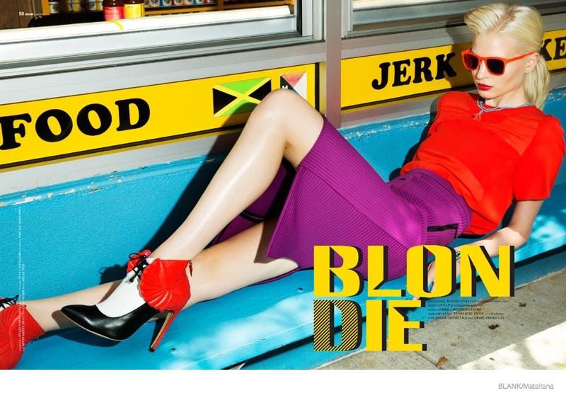blondie style matallana shoot02 Blondie Style: Anna Piirainen by Matallana for Blank Magazine