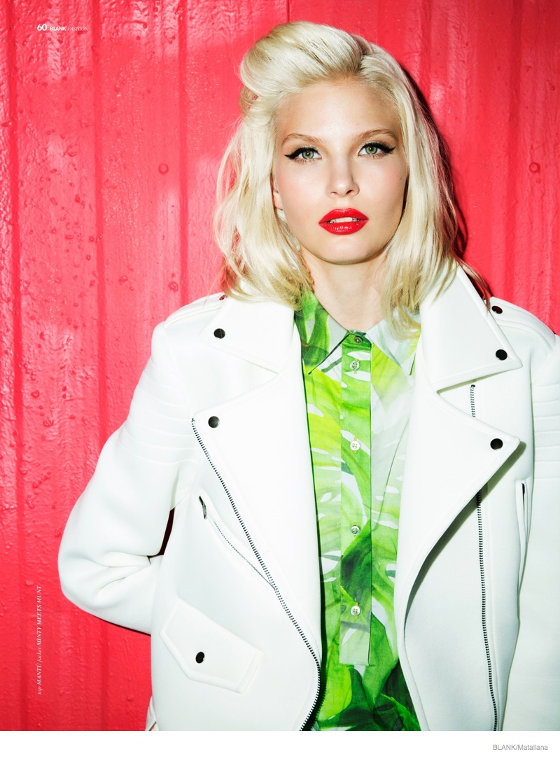 Blondie Style: Anna Piirainen by Matallana for Blank Magazine