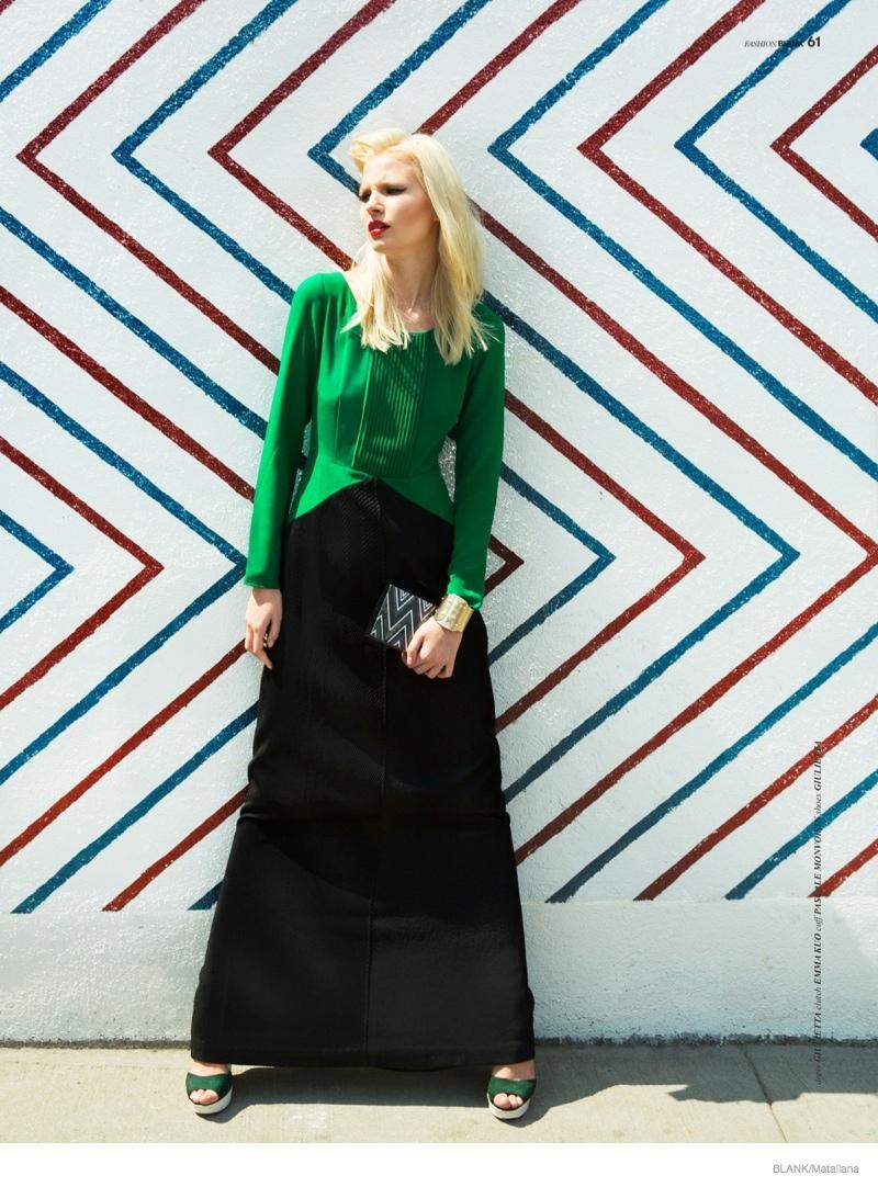 blondie style matallana shoot04 Blondie Style: Anna Piirainen by Matallana for Blank Magazine