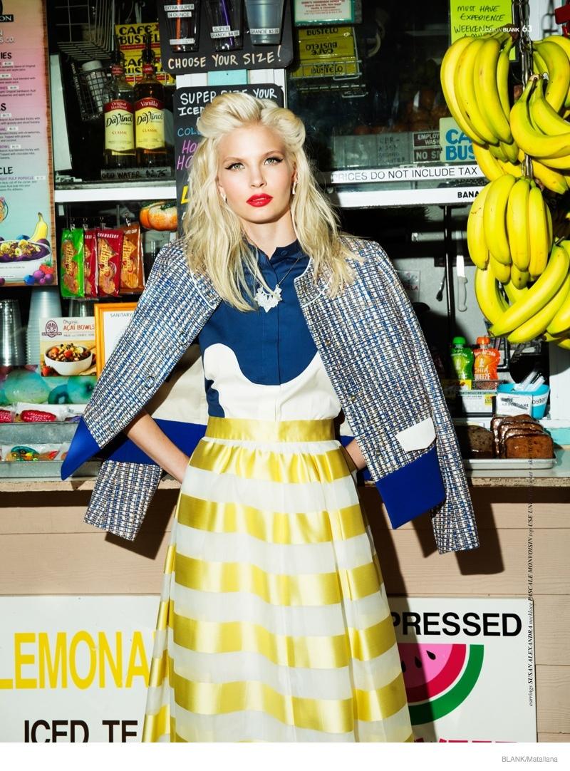 blondie style matallana shoot06 Blondie Style: Anna Piirainen by Matallana for Blank Magazine