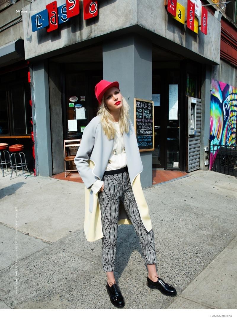 blondie style matallana shoot07 Blondie Style: Anna Piirainen by Matallana for Blank Magazine
