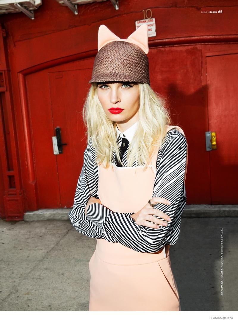 blondie style matallana shoot08 Blondie Style: Anna Piirainen by Matallana for Blank Magazine
