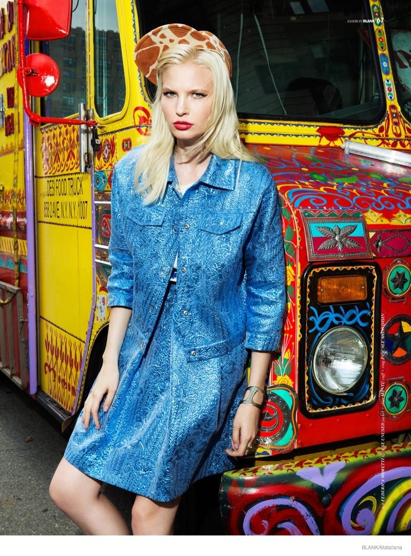 blondie style matallana shoot10 Blondie Style: Anna Piirainen by Matallana for Blank Magazine