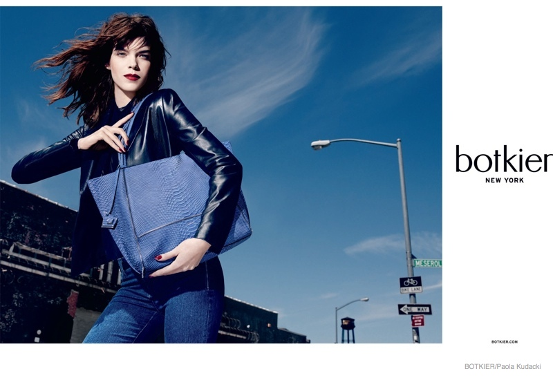 Meghan Collison Models Chic Handbags in Botkier's Fall 2014 Ads