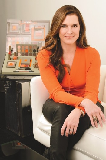 Brooke Shields Collaborates with MAC Cosmetics on Icon Makeup Line