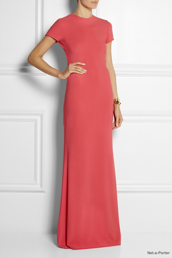 Calvin Klein Collection Belza stretch-crepe maxi dress available at Net-a-Porter for $1,950.00