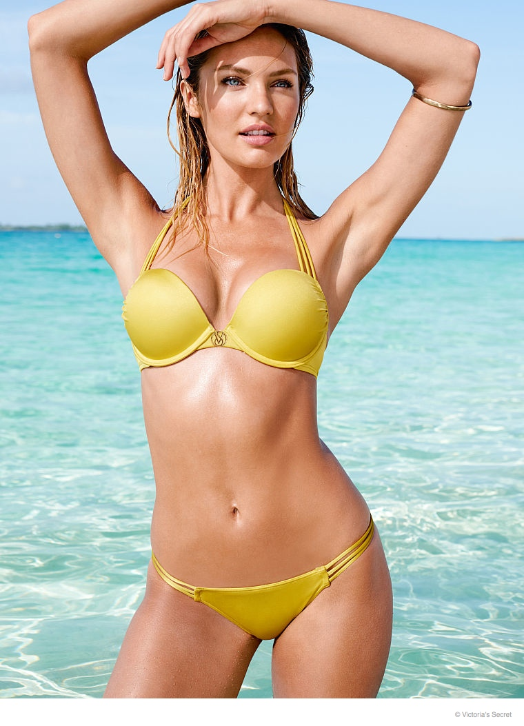 candice swanepoel beach photos 2014 01 Candice Swanepoel is a Beach Babe for Victoria's Secret