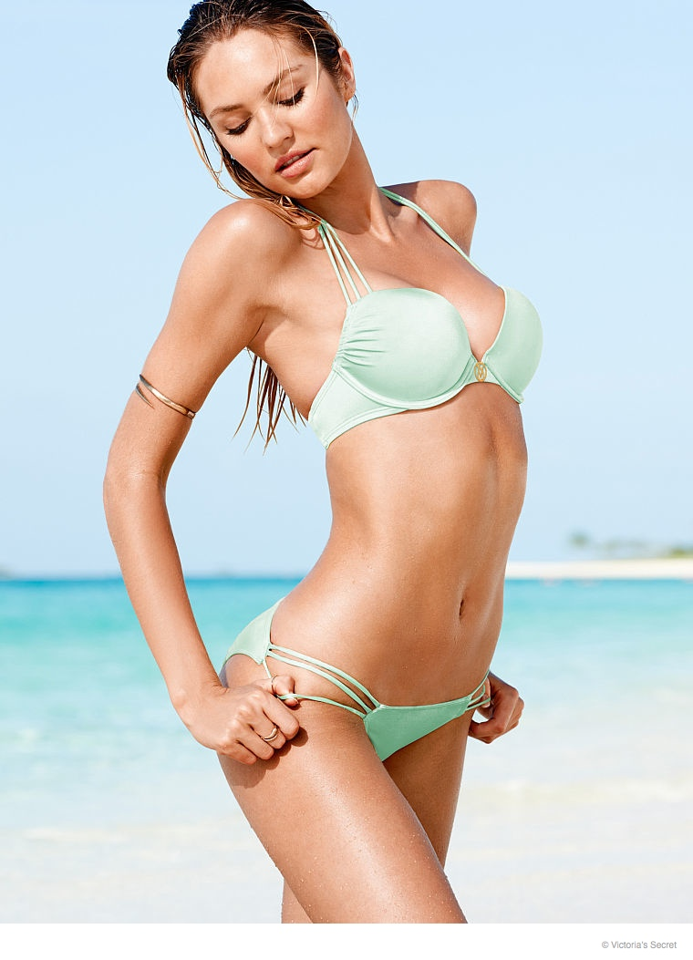 candice swanepoel beach photos 2014 02 Candice Swanepoel is a Beach Babe for Victoria's Secret