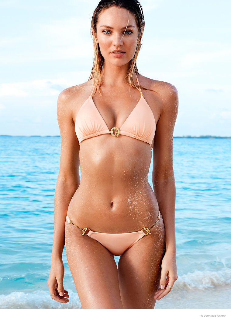 candice swanepoel beach photos 2014 04 Candice Swanepoel is a Beach Babe for Victoria's Secret