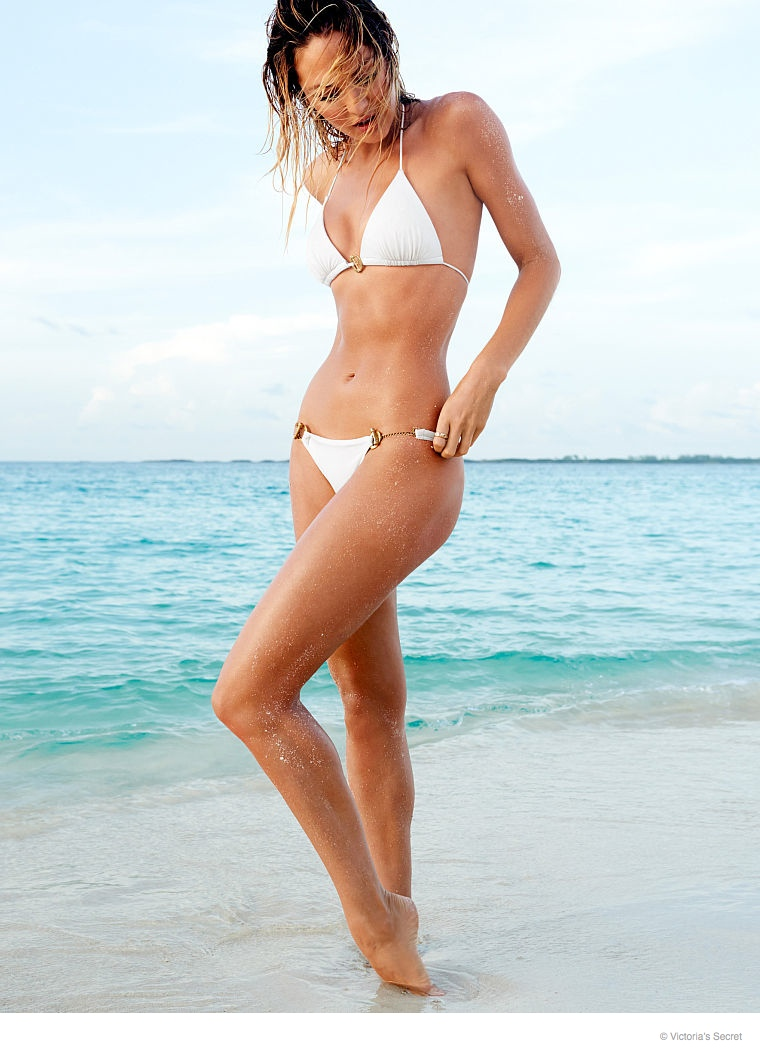 candice swanepoel beach photos 2014 06 Candice Swanepoel is a Beach Babe for Victoria's Secret