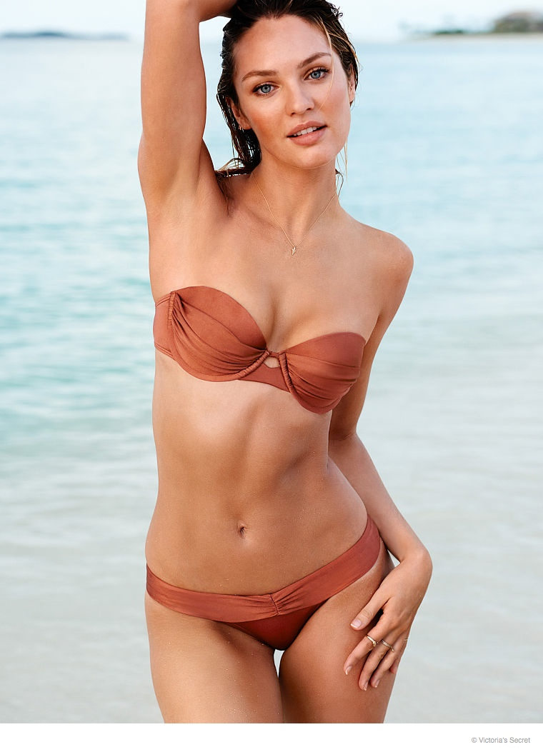 candice swanepoel beach photos 2014 07 Candice Swanepoel is a Beach Babe for Victoria's Secret