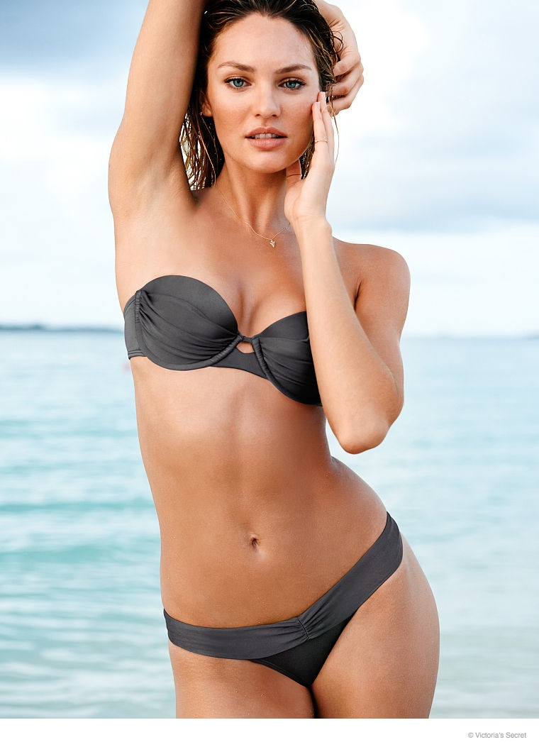 b01aac75b962a Candice Swanepoel is a Beach Babe for Victoria's Secret | Fashion ...