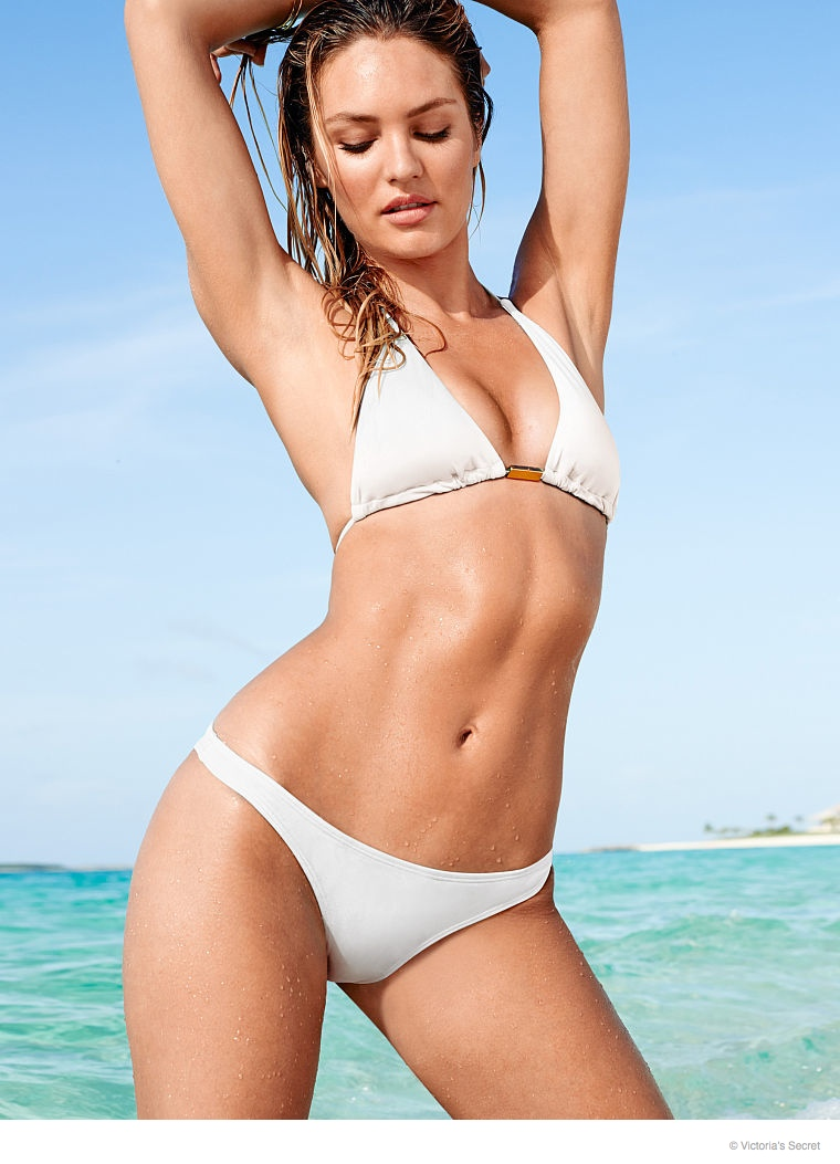 candice swanepoel beach photos 2014 10 Candice Swanepoel is a Beach Babe for Victoria's Secret