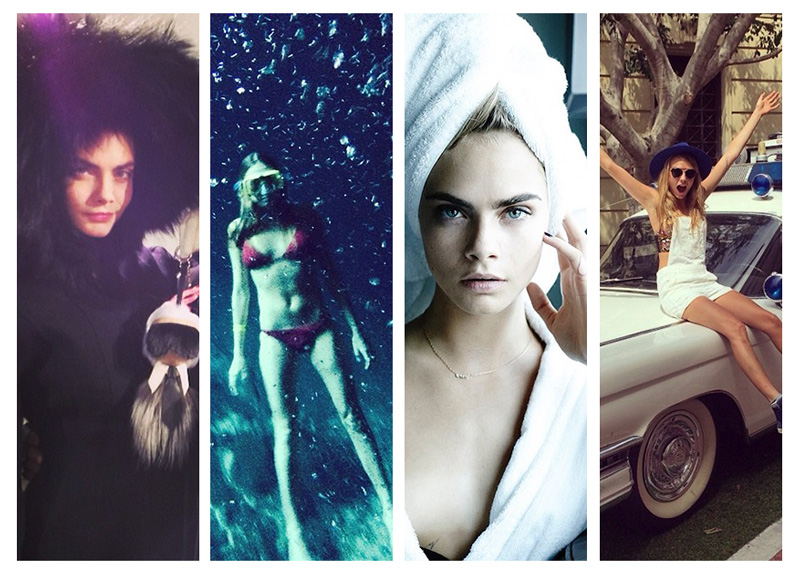 cara delevingne instagram best Happy Birthday, Cara Delevingne! Her Best Instagrams Yet