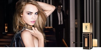 Cara Delevingne Sizzles in YSL's New Fall Makeup Ads