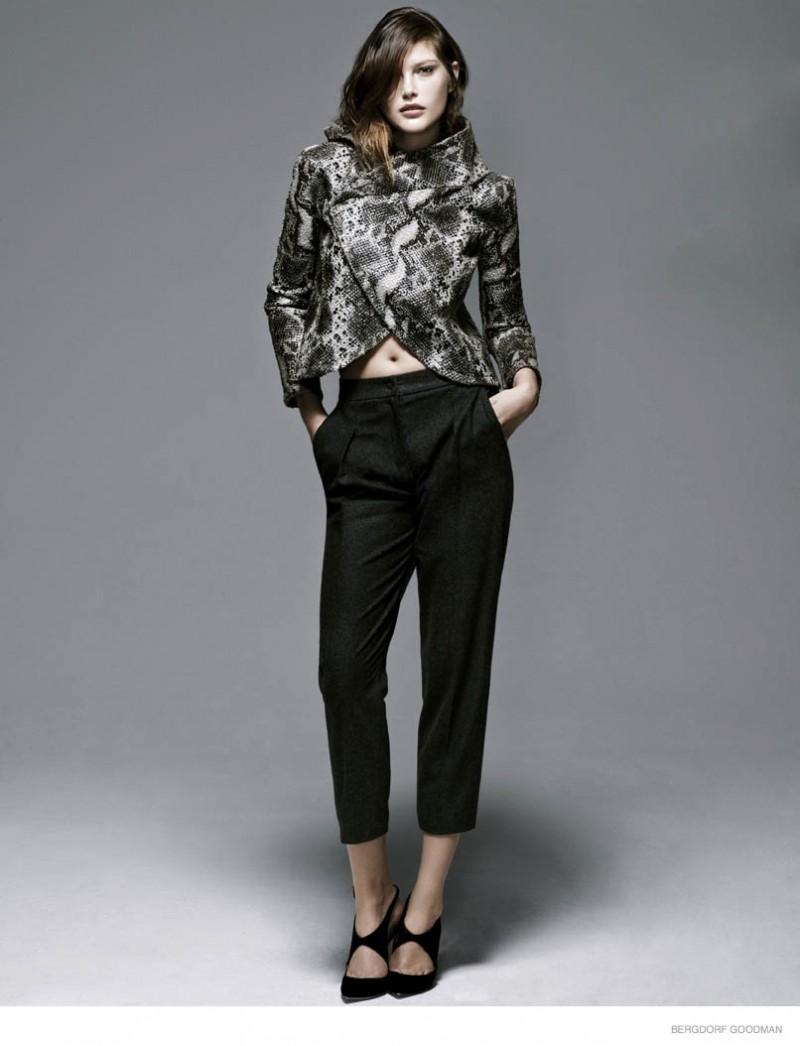 catherine mcneil fall looks bergdorf goodman01 800x1046 Catherine McNeil Models Eclectic Fall Fashion for Bergdorf Goodman Shoot