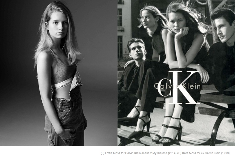ck kate lottie moss Is a Kate & Lottie Moss Vogue UK Cover in the Works?