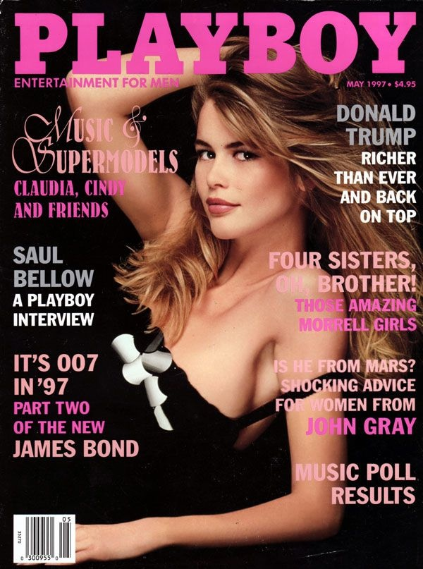 Claudia Schiffer landed the May 1997 Cover