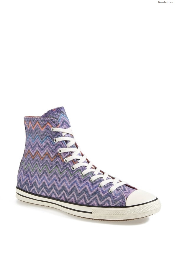 Converse x Missoni Chuck Taylor® All Star® High Top Sneaker available at Nordstrom for $99.95