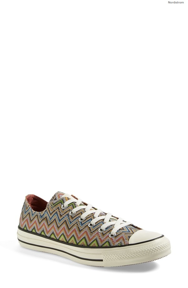 Converse x Missoni Chuck Taylor® All Star® Low Sneaker available at Nordstrom for $84.95